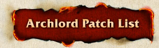 Archlord Patch List