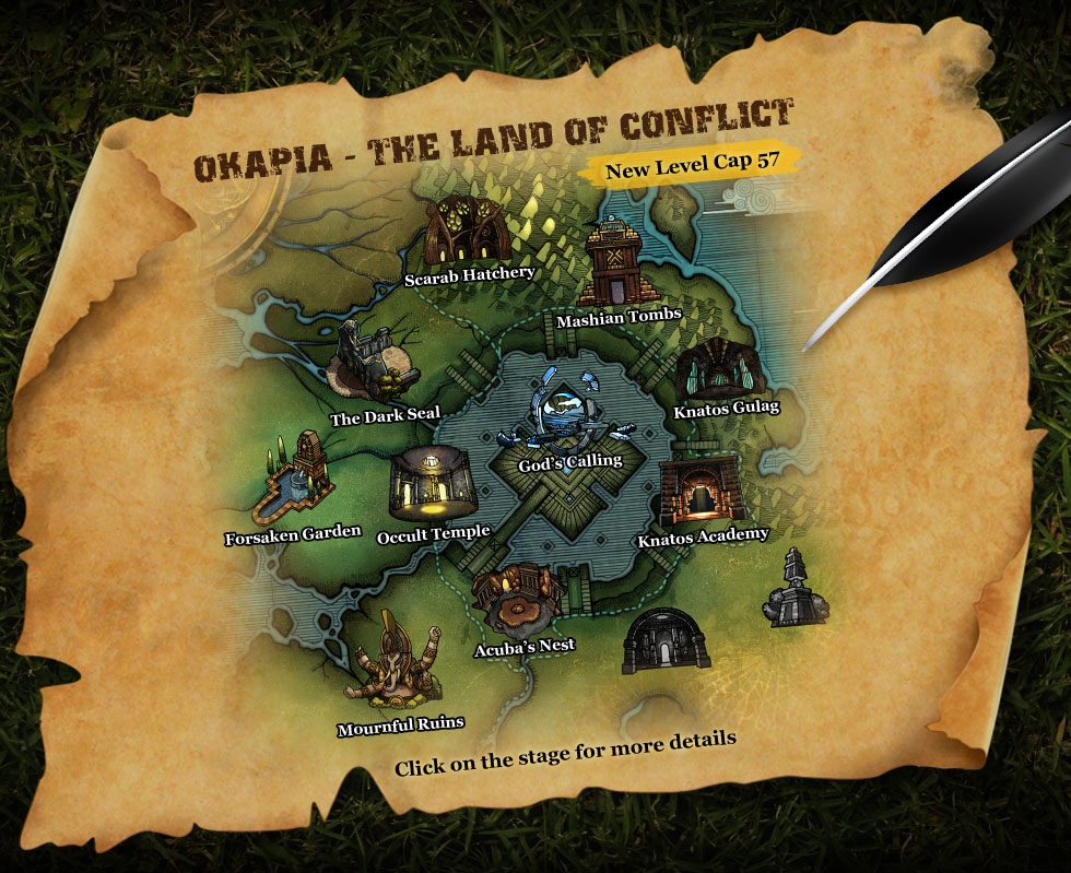 OKAPIA - THE LAND OF CONFLICT