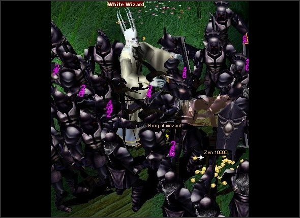 Sự kiện White Wizard (Phù Thủy Trắng) trong MU