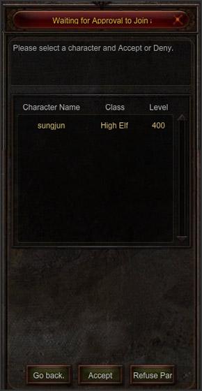 View Register Guild Tap