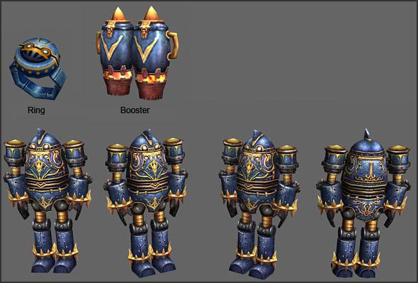 Robot Knight Transformation Ring