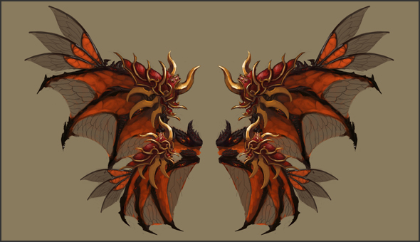 The final reward if Chaos Castle Survival of the fittest - Wings of the Conqueror