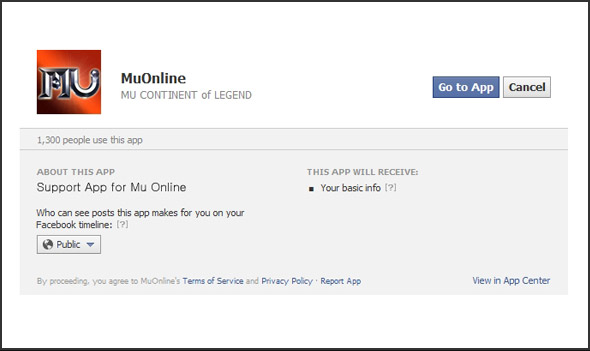 Log in Facebook with your Facebook account.